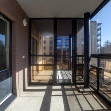 ЖК Grona Lund, балкон, отделка